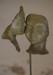Nuage H: visages 16cm